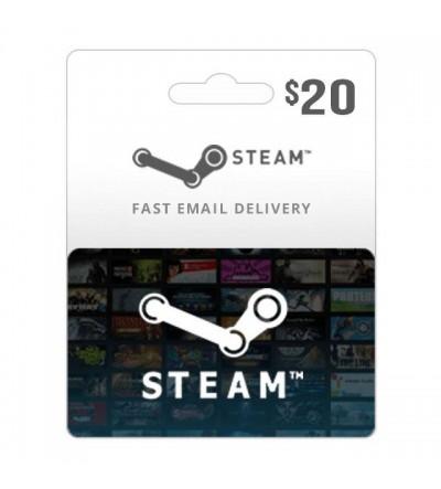 Steam Gift 20$
