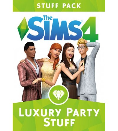 Sims 4 - Luxury Party Stuff