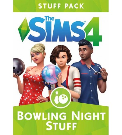 Sims 4 - Bowling Night Stuff