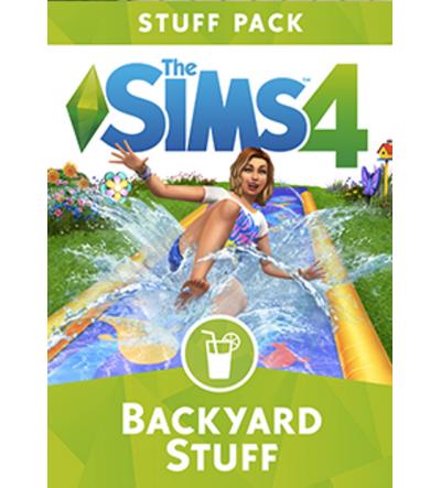 Sims 4 - Backyard Stuff