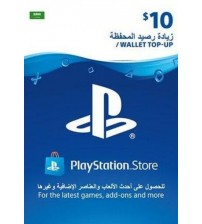 PlayStation Card $10 KSA