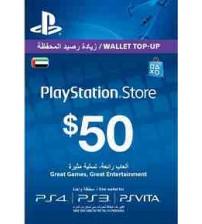 PlayStation Card $50 UAE