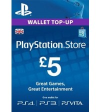 PlayStation Network Card - £5 UK
