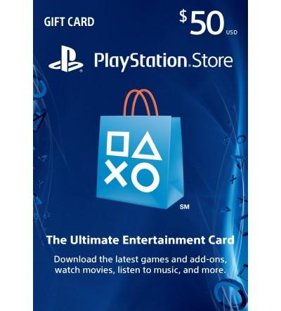 PlayStation Card $50 USA
