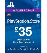PlayStation Network Card - £35 UK
