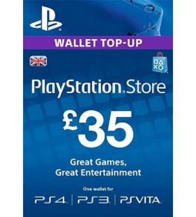 PlayStation Network Card - £35 UK