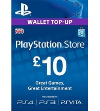 PlayStation Network Card - £10 UK