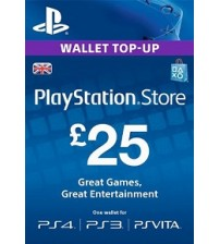 PlayStation Network Card - £25 UK