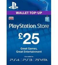 PlayStation Network Card - £25 UK