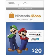Nintendo E-Shop $20 Card