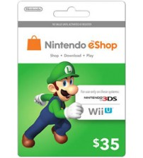 Nintendo E-Shop $35 Card