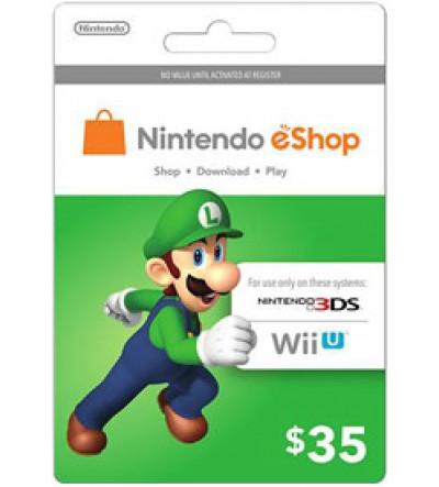 Nintendo E-Shop $35 Card