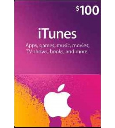 iTunes Gift Card $100 (US)