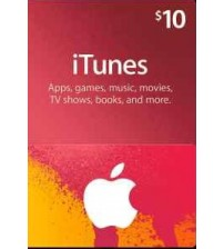 iTunes Gift Card $10 (US)