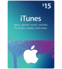 iTunes Gift Card $15 (US)