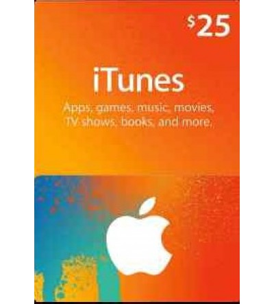 iTunes Gift Card $25 (US)