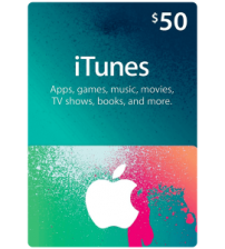 iTunes Gift Card $50 (US)