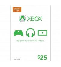 Xbox Live Gift 25$ US