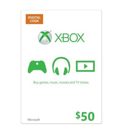 Xbox Live Gift 50$ US
