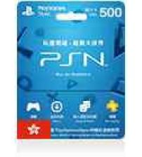 PlayStation Card 500 Hong Kong