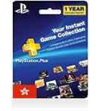 PlayStation Plus 12 Months Hong Kong